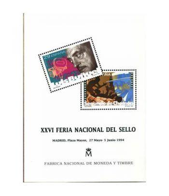 1994 Documento 32 XXVI Feria Nacional del Sello.  - 2
