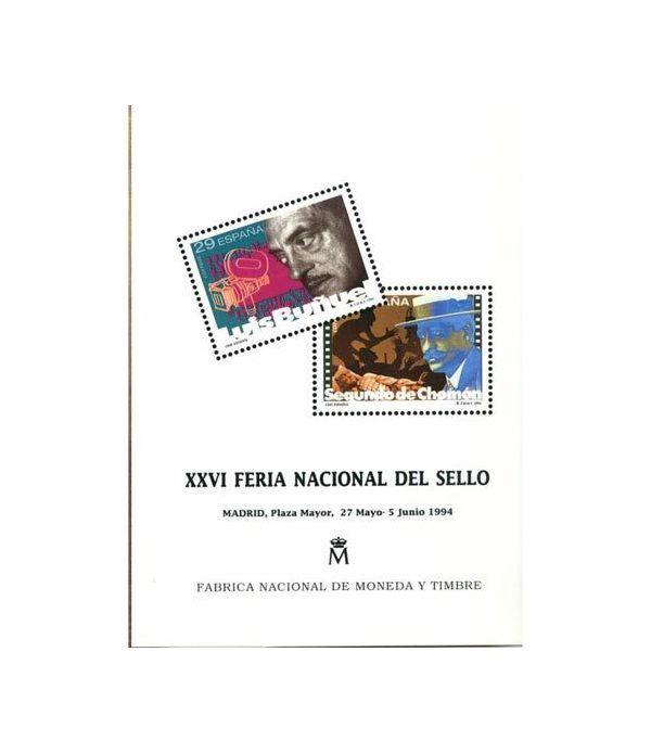 1994 Documento 32 XXVI Feria Nacional del Sello.  - 1