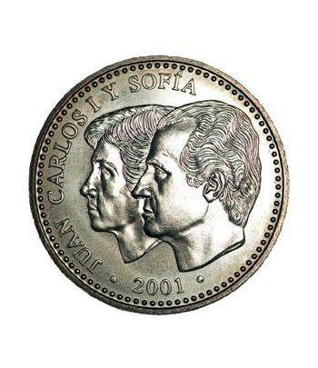 Moneda conmemorativa 2000 ptas. 2001. Plata.  - 2