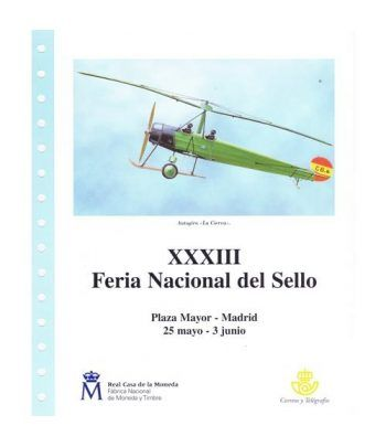 2001 Documento 03/2001 XXXIII Feria Nacional del Sello.  - 1