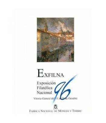 1996 Documento 41 Exfilna Vitoria Gasteiz. Matasellos Primer Día  - 1
