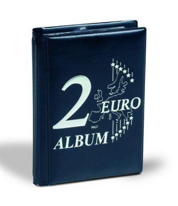 LEUCHTTURM Álbum de bolsillo para 48 monedas de 2 euros Album Monedas Euro - 2