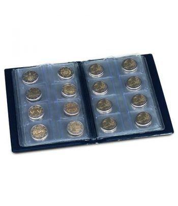 LEUCHTTURM Álbum de bolsillo para 48 monedas de 2 euros Album Monedas Euro - 4