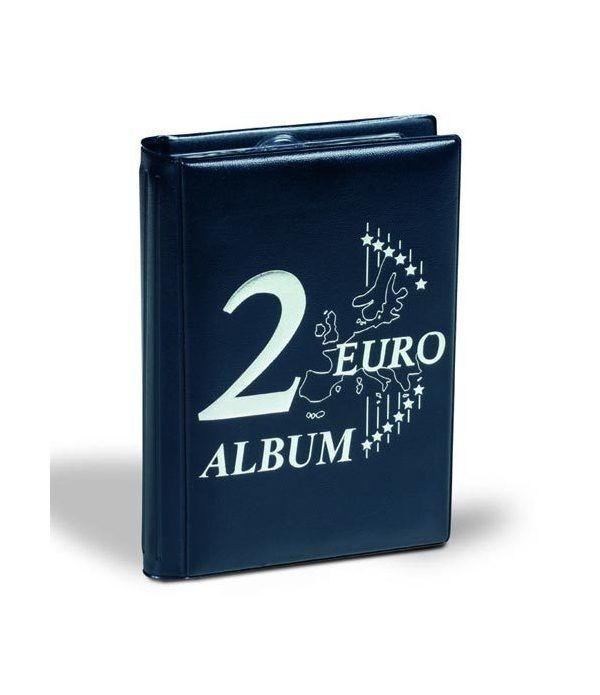 LEUCHTTURM Álbum de bolsillo para 48 monedas de 2 euros Album Monedas Euro - 1