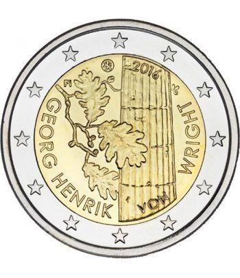 moneda conmemorativa 2 euros Finlandia 2016 Georg Henrik  - 2