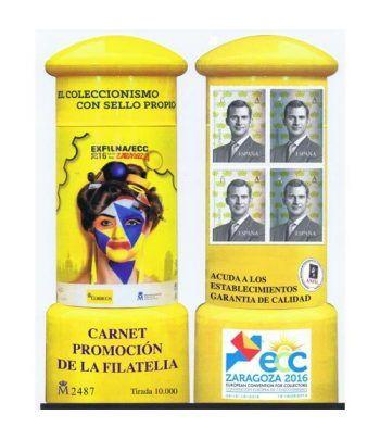 5078CP Carnet Promoción de la Filatelia 2016.  - 2