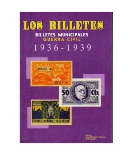 Catalogo Billetes municipales Guerra Civil 1936-1939. 1ª Edición Catalogos Billetes - 2