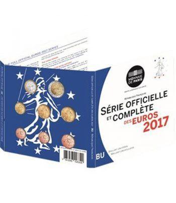 Cartera oficial euroset Francia 2017.  - 2