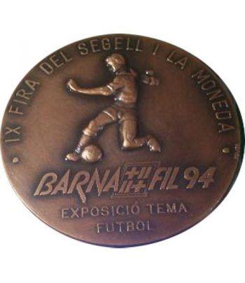 Medalla Barnafil 1994 Exposición Tema Futbol.  - 1