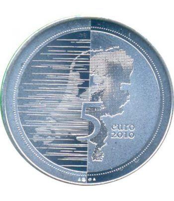 Holanda 5 euros 2010 Waterland. Coincard.  - 1