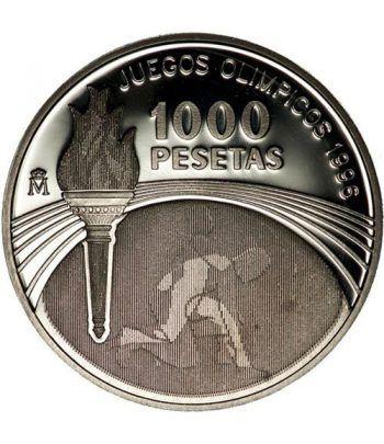 1000 Pesetas 1995 Juegos Olímpicos Atlanta 1996. Madrid SC.  - 1