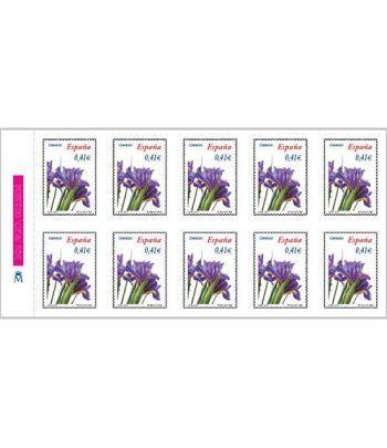 4219H Fauna y Flora LIRIO COMUN (hoja de 10 sellos)  - 2