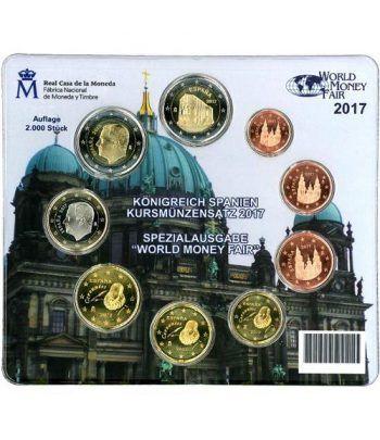 Cartera oficial euroset España 2017 (Emisión Berlín).  - 1