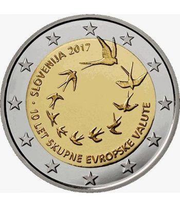 moneda conmemorativa 2 euros Eslovenia 2017.  - 2