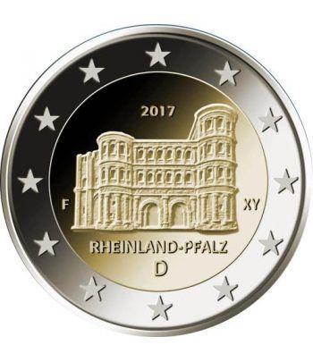 moneda conmemorativa 2 euros Alemania 2017 (5) Renania  - 2