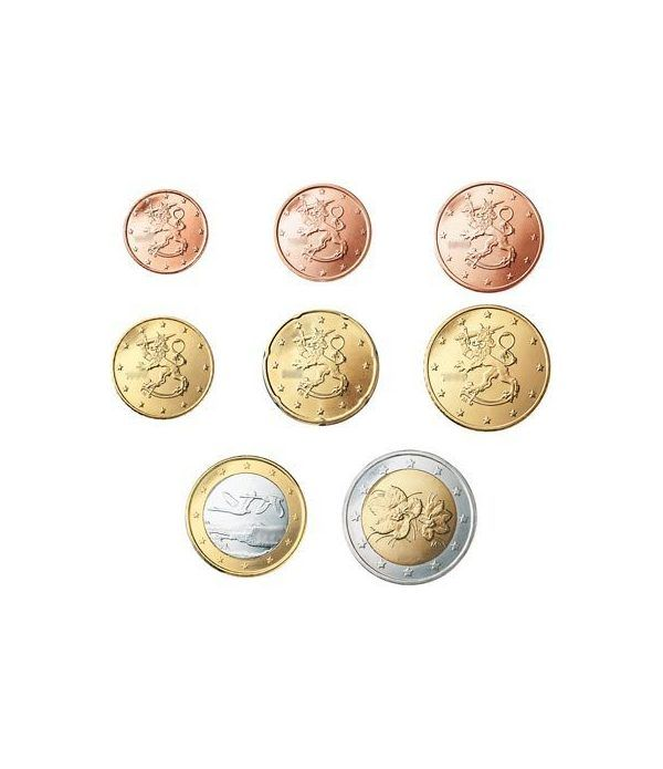 monedas euro serie Finlandia 2017  - 2