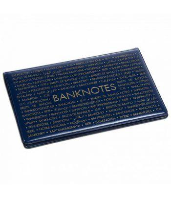LEUCHTTURM Album de bolsillo para billetes de Banco 210x125. Album billetes - 1