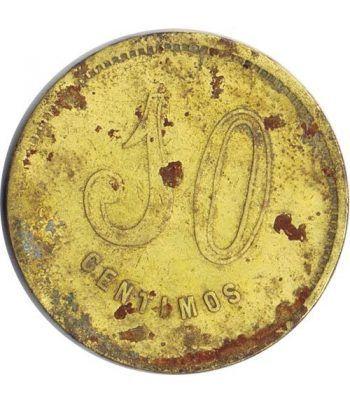 Moneda 10 Centimos Union Cooperatista El Reloj y La Dignidad.  - 1