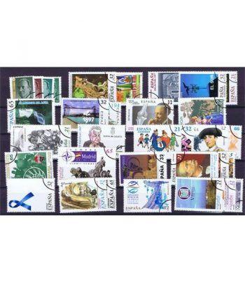Sellos de España año 1997 COMPLETO sellos MUESTRA.  - 1