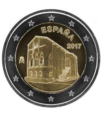 moneda conmemorativa 2 euros España 2017 Sta María Naranco  - 2