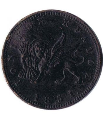 Grecia 1 Lepton Islas Jónicas 1851  - 1