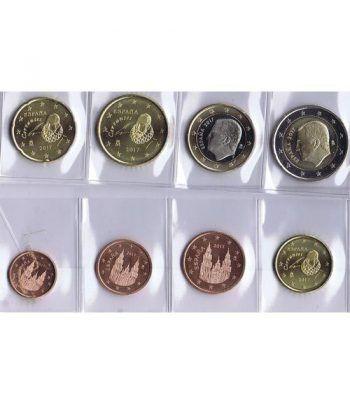 monedas euro serie España 2017  - 2