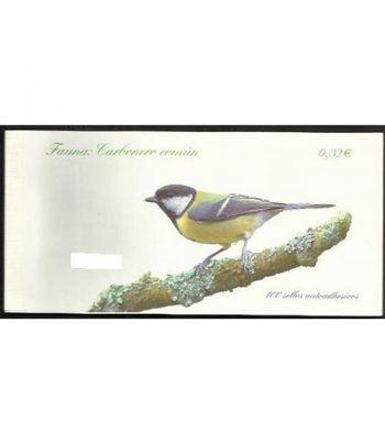 4462C Fauna y Flora 2009 CARBONERO (carnet de 100 sellos)  - 2