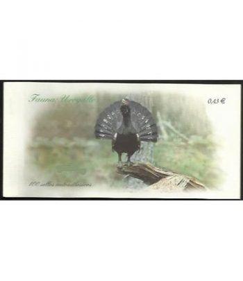 4467C Fauna y Flora 2009 UROGALLO (carnet de 100 sellos)  - 2