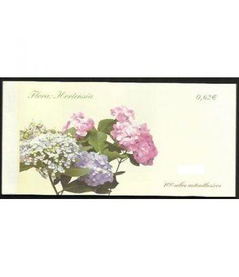 4468C Fauna y Flora 2009 HORTENSIA (carnet de 100 sellos)  - 2