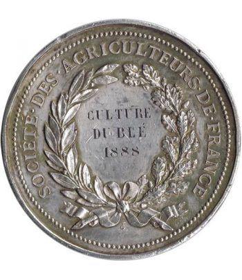Medalla Societé des agriculteurs de France. Plata.  - 1
