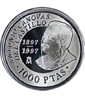 1000 Pesetas 1997 D. Antonio Cánovas del Castillo. Madrid SC.  - 4