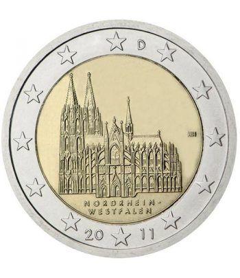 moneda conmemorativa 2 euros Alemania 2011. Ceca J  - 2