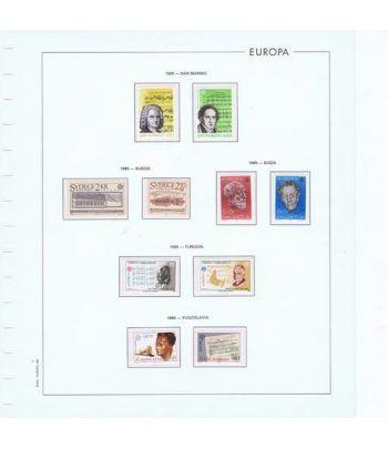 Colección Sellos de Tema Europa 1956/2004.  - 10