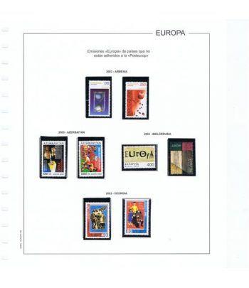 Colección Sellos de Tema Europa 1956/2004.  - 16