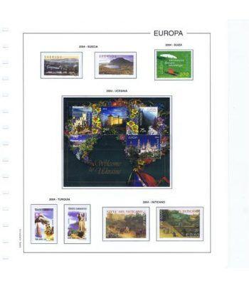 Colección Sellos de Tema Europa 1956/2004.  - 18