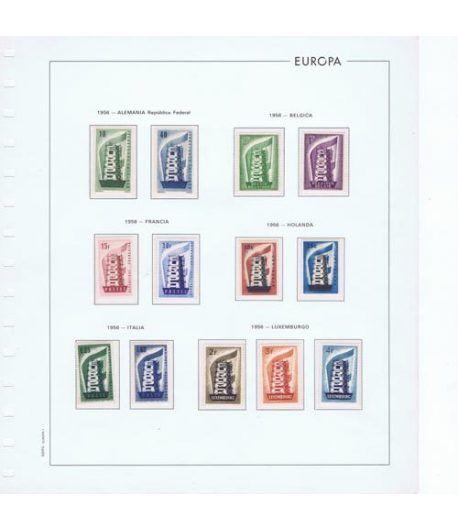 Colección Sellos de Tema Europa 1956/2004.  - 1