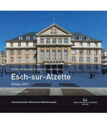 Cartera oficial euroset Luxemburgo 2017 (incluye 2€ conmemorat).  - 1