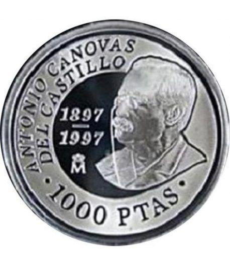 1000 Pesetas 1997 D. Antonio Cánovas del Castillo. Madrid SC.  - 1
