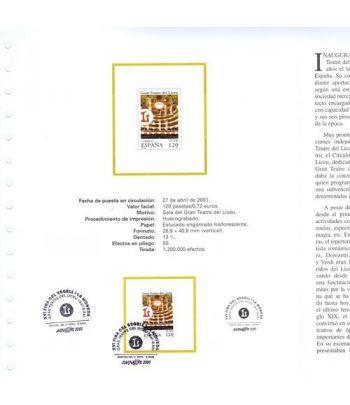 2001 Documento 02/2001 BARNAFIL 2001 Teatre Liceu.  - 4