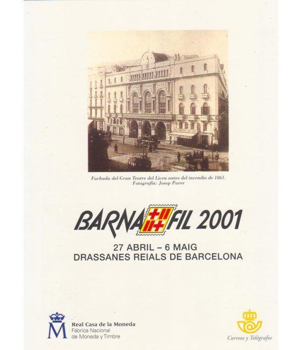 2001 Documento 02/2001 BARNAFIL 2001 Teatre Liceu.  - 1
