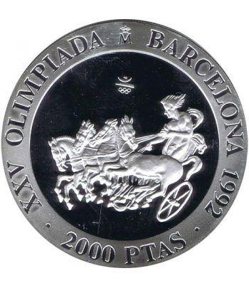 2000 Pesetas 1992 Juegos Olimpicos Barcelona'92 Cuadriga.  - 1