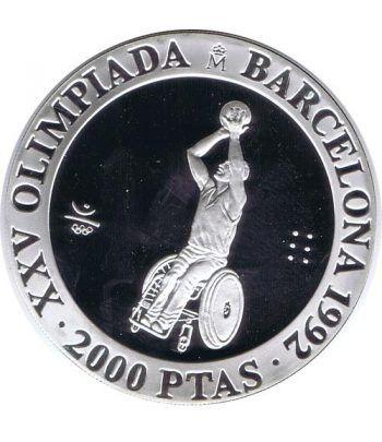 2000 Pesetas 1992 Juegos Olímpicos Barcelona'92 Paralímpicos  - 1