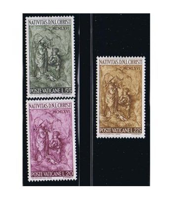 Vaticano 0463/5 Navidad 1966.  - 2