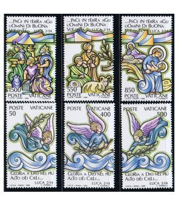 Vaticano 0843/48 Navidad 1988  - 2