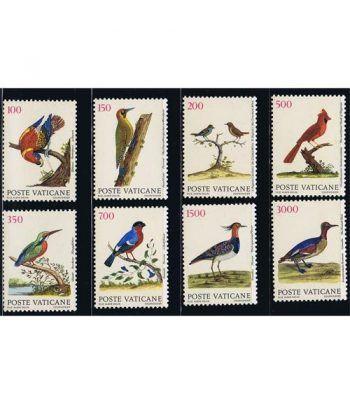 Vaticano 0852/59 Ecología. Los Pájaros. 1989  - 2