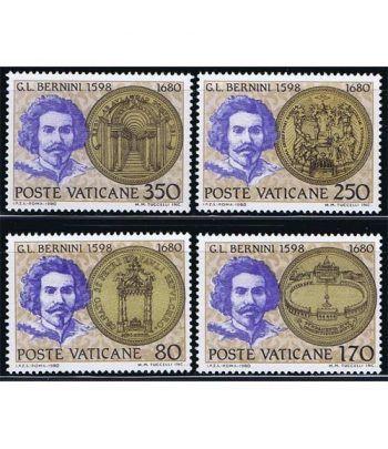 Vaticano 0694/97 Lorenzo Bernini 1980.  - 2