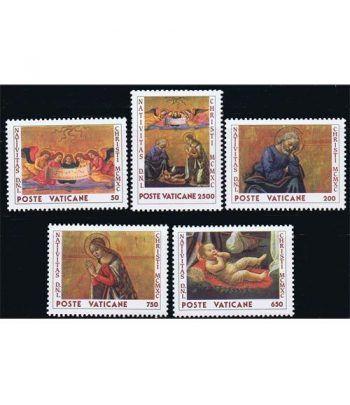Vaticano 0886/90 Navidad 1990.  - 2