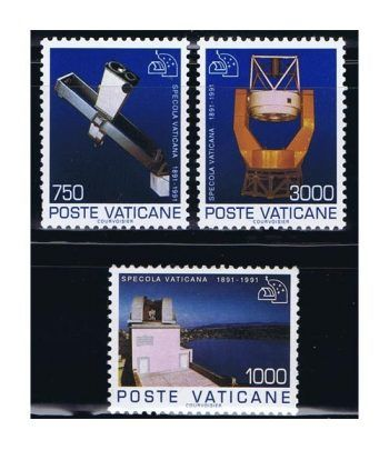 Vaticano 0908/10 Fundación Observatorio Vaticano 1991.  - 2