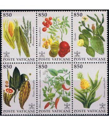Vaticano 0930/35 Flora del Nuevo Mundo 1992.  - 2