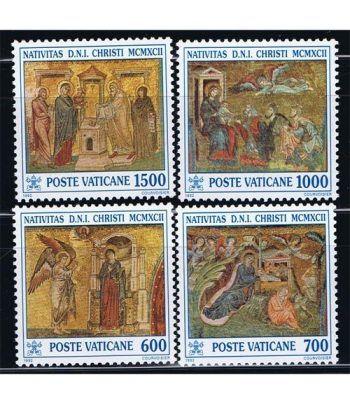 Vaticano 0937/40 Navidad 1992.  - 2